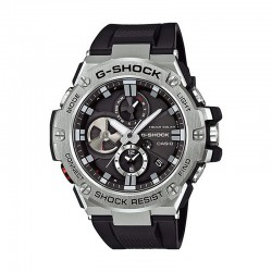 Reloj Casio G-Shock Analógico Digital G-Steel Negro Resina Negra Bluetooth. GST-B100-1AER
