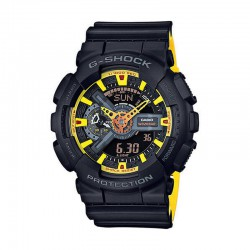 Reloj Casio G-Shock Negro Amarillo GA-110BY-1AER