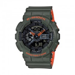 Reloj Casio G-Shock Kakhi Naranja GA-110LN-3AER