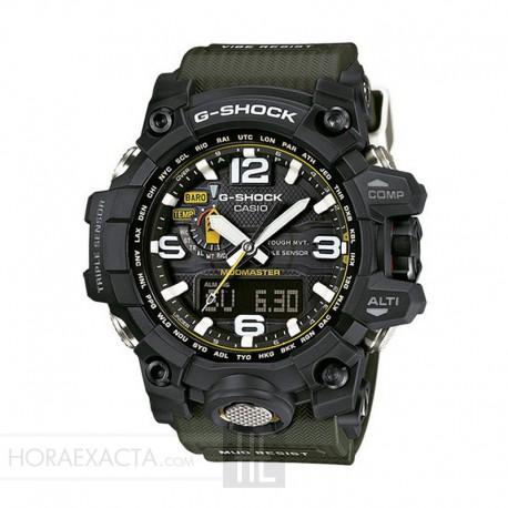 Reloj Casio G-Shock MudMaster Negro Verde GWG-1000-1A3ERGA