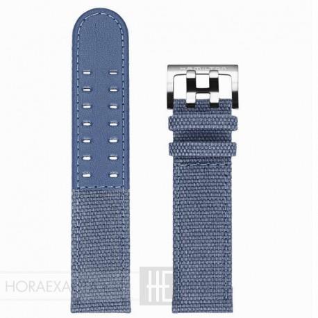 Correa Hamilton loneta azul 22 mm