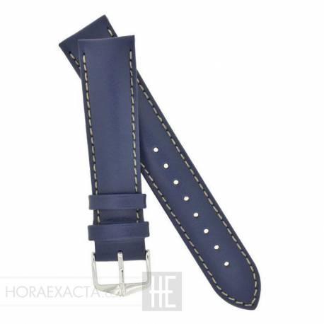 Correa Hirsch Trooper azul 24 mm.