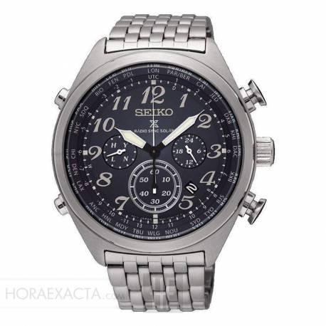 venta en línea variedades anchas gran inventario Reloj Seiko Prospex Cielo Solar Radiocontrolado Crono. Precio Rebajado