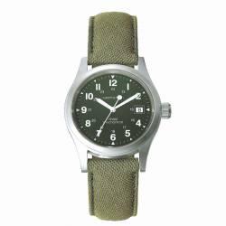 Reloj Hamilton Khaki Field Officer Handwinding Verde Lona
