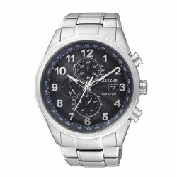 Reloj Citizen Eco Drive Radio Controlado Crono Azul Armis 43 mm. OUTLET *