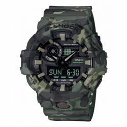 Reloj Casio G-Shock Camu Kaki Analógico Digital GA-700CM-3AER
