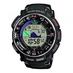 Reloj Casio Pro Trek Digital Negro Tough Solar Radio Frecuencia PRW-2500-1ER