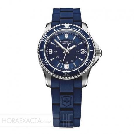 Reloj Victorinox Maverick Small Caucho Azul