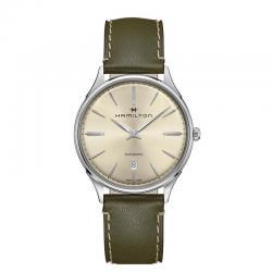 Reloj Hamilton Thinline auto plata.