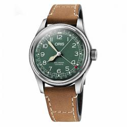 Reloj Oris Big Crown D.26 286 HB-RAG Limited Edition Verde Piel