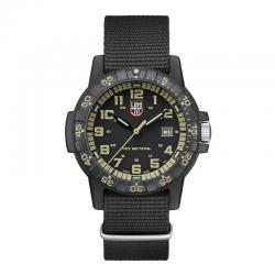 Reloj Luminox Leatherback Sea Turtle Giant Negro Beig Nato 39 mm.