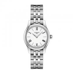 Reloj Tissot Tradition Thin Lady Blanco Armis 25 mm.