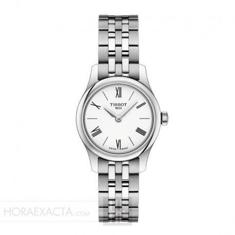 Reloj Tissot Tradition Thin Lady Blanco Armis 25 mm.