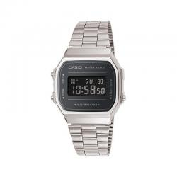 Reloj Casio Collection Digital Armis Acero Mirror Oscuro A168WEM-1EF