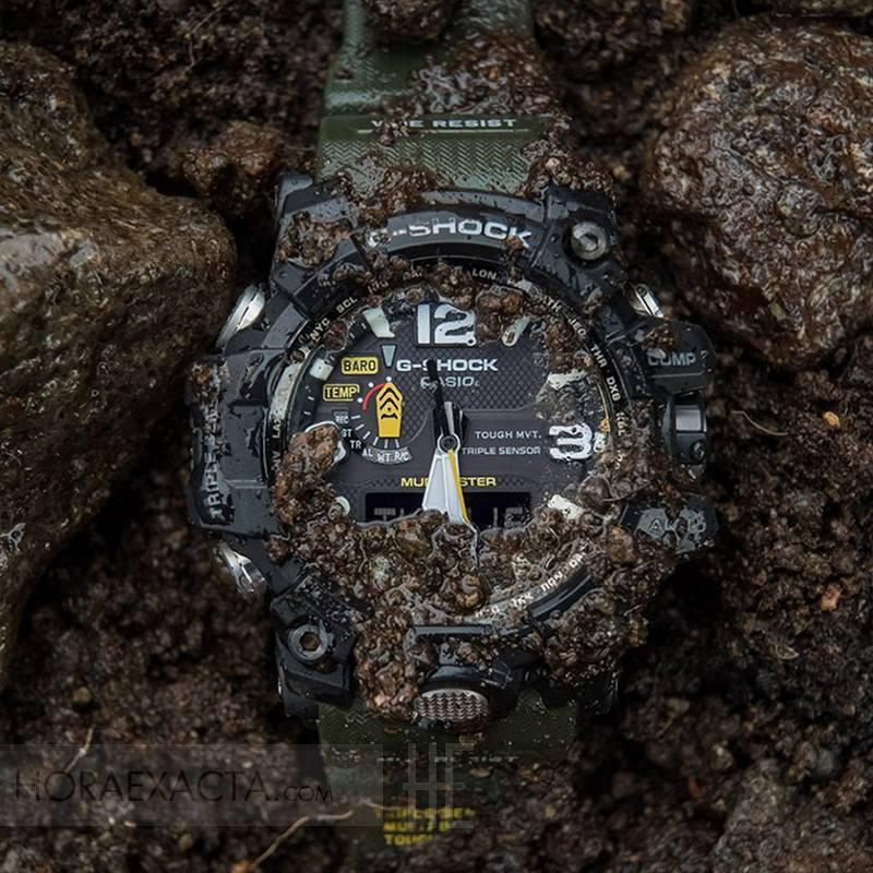 a0eb283ef Reloj Casio G-Shock MudMaster Negro Verde GWG-1000-1A3.Oferta.Rebajado