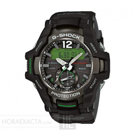 Reloj Casio G-Shock GravityMaster Negro Verde GR-B100-1A3ER