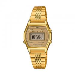 Reloj Casio Collection Digital Pequeño Armis All Golden LA690WEGA-9EF