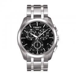 Reloj Tissot Couturier Crono Cuarzo Negro Armis. T035.617.11.051.00