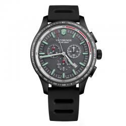 Reloj Victorinox Alliance Sport Crono PVD Negro Caucho. V241818