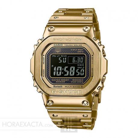 Reloj Casio G-Shock Acero Baño Oro Amarillo Armis GMW-B5000GD-9ER