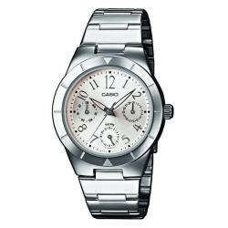 Reloj Casio Lady Cuarzo Acero Armis Gris Plata 31 mm. LTP-2069D-7A2VEF