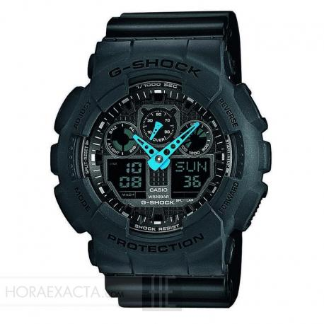 Reloj Casio G-Shock Negro Analógico Digital GA-100C-8AER