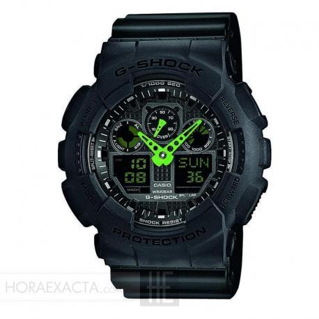 Reloj Casio G-Shock Negro Analógico Digital GA-100C-1A3ER