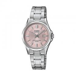 Reloj Casio Collection Analógico Rosa Armis LTS-100D-4AVEF