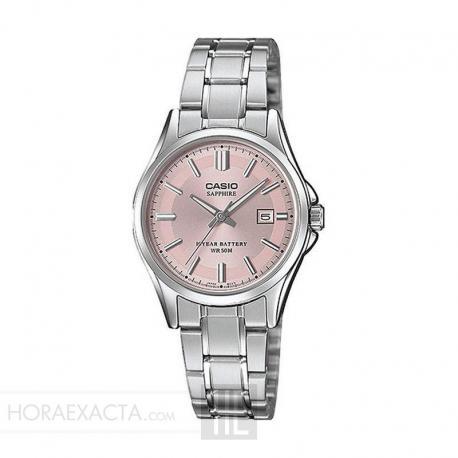 933345fe4707 Reloj Casio Collection Analógico Rosa Armis LTS-100D-4AVEF.Féminas