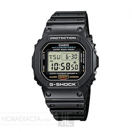 Reloj Casio G-Shock Negro Cuadrado DW-5600E-1VER