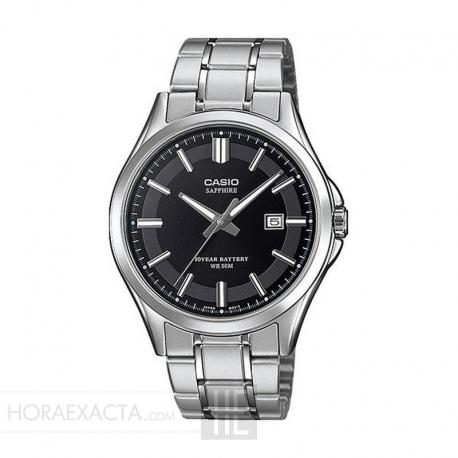 Reloj Casio Collection Acero Negro Armis MTS-100D-1AVEF