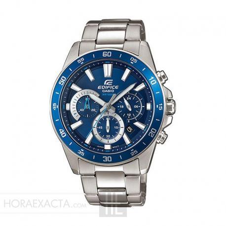 Reloj Casio Edifice Acero Crono Azul Armis EFV-570D-2AVUEF