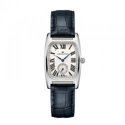 Reloj Hamilton American Classic Boulton Small Second Quartz Lady Blanco Piel H13421611