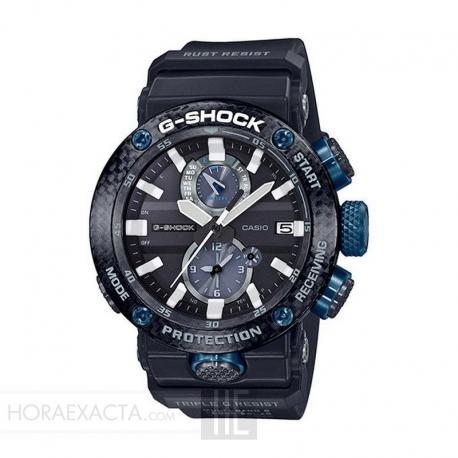 Reloj Casio G-Shock Gravity Master Negro Azul Carbon Monocoque GWR-B1000-1A1ER