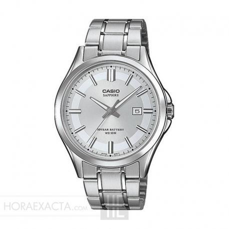 Reloj Casio Collection Acero Gris Plata Armis MTS-100D-7AVEF