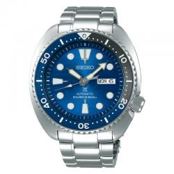 "Reloj Seiko Prospex ""Tortuga"" Auto Azul Armis Special Edition Save The Ocean Shark 2019 45 mm"