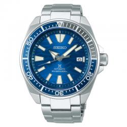 "Reloj Seiko Prospex ""Samurai"" Auto Azul Armis Special Edition Save The Ocean Shark 2019 44 mm"