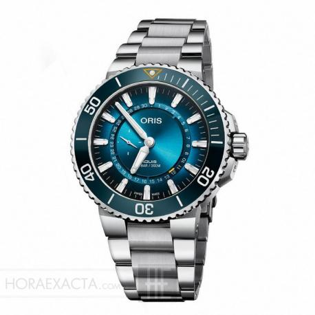 Reloj Oris Aquis Great Barrier Limited Edition 01 743 7734 4185-Set
