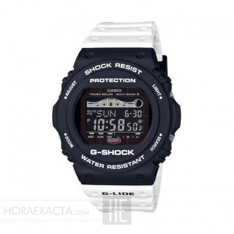 Reloj Casio G-Shock Trending Blanco Solar Radiocontrolado GWX-5700SSN-1ER