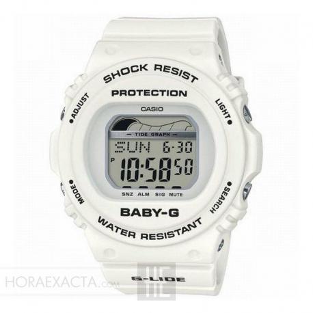 Reloj Casio Baby-G Beach Styled Digital Blanco BLX-570-7ER