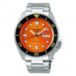 Reloj Seiko 5 Neo Sport Automático Naranja Day Date Armis 42,5 mm. SRPD59K1