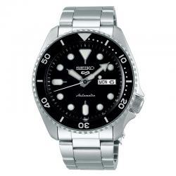 Reloj Seiko 5 Neo Sport Automático Negro Day Date Armis 42,5 mm. SRPD55K1
