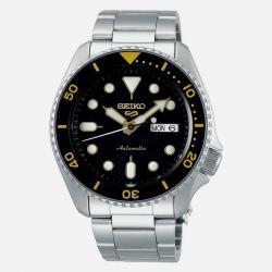 Reloj Seiko 5 Neo Sport Automático Negro Day Date Armis 42,5 mm. SRPD57K1