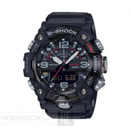 Reloj Casio G-Shock Analógico Digital Mud Resist Negro . GG-B100-1AER