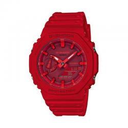 Reloj Casio G-Shock Analógico Digital Rojo GA-2100-4AER