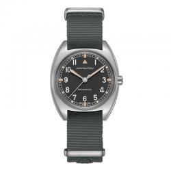 Reloj Hamilton Khaki Pilot Pioneer Mechanical Nato Textil H76419931