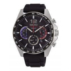 Reloj Seiko Neo Sports Crono Negro Caucho SSB347P1