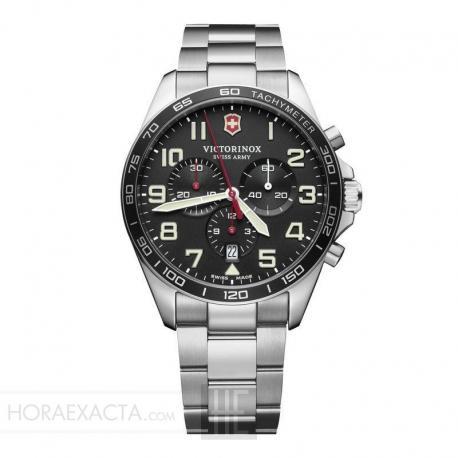 Reloj Victorinox Fieldforce Chrono Cuarzo Negro Armis 42 mm. V241855