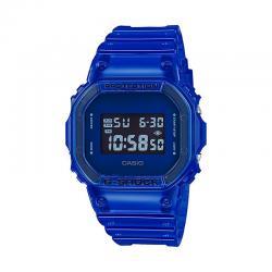 Reloj Casio G-Shock Transparente Cuadrado Azul DW-5600SB-2ER