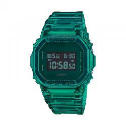 Reloj Casio G-Shock Transparente Cuadrado Verde DW-5600SB-3ER